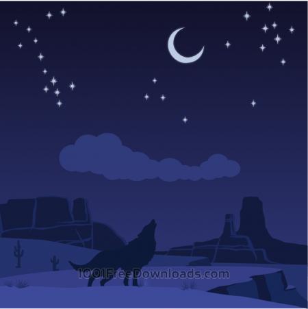 Free Desert wolf
