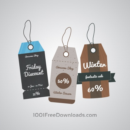 Free Sale labels tags