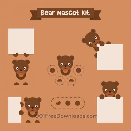 Free Bear mascot