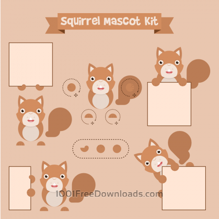 Free Squirrel mascot