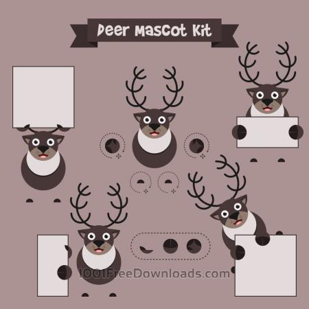 Free Deer mascot