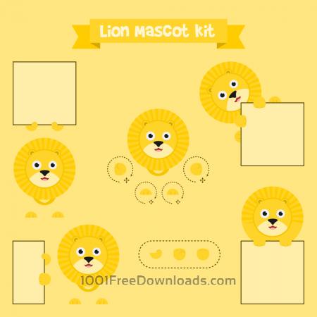 Free Lion mascot