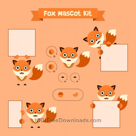 Free Fox mascot