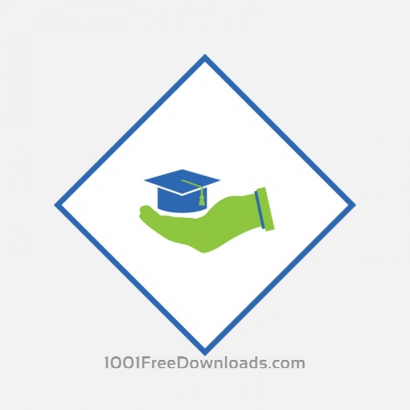 Free Education Abstract Illustration
