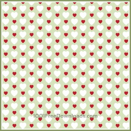 Free Hearts Pattern