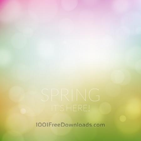 Free Spring background
