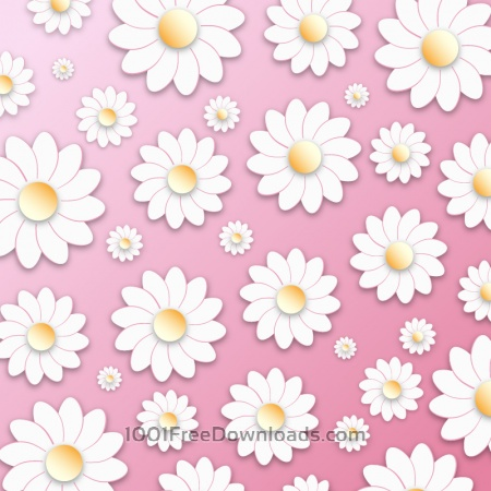 Free Floral 3D Pattern