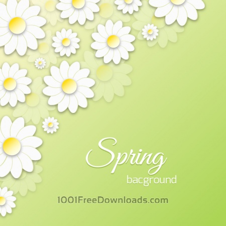 Free Spring Floral 3D Illustration