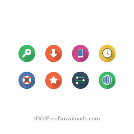 Free Filo Icons - Mini Set 4
