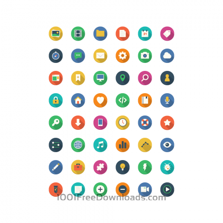 Free Filo Icons - Full Set