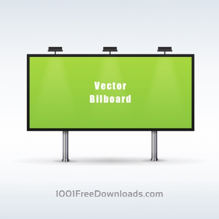 Free Outdoor billboard advertising