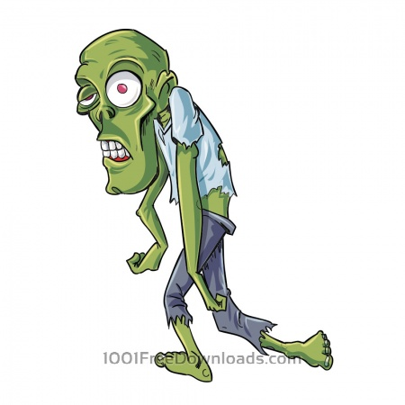 Free Twisted zombie character