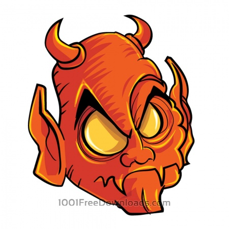 Free Demon head