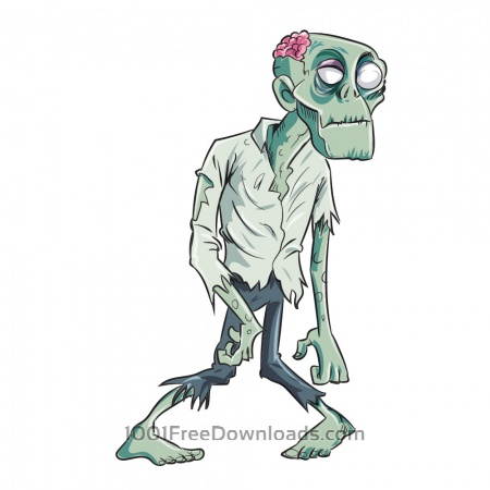 Free Zombie caricature
