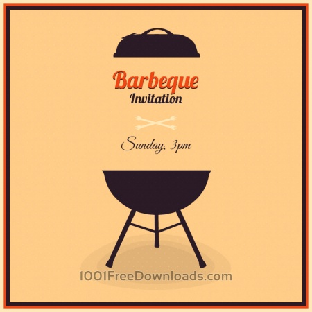 Free Barbecue Illustration