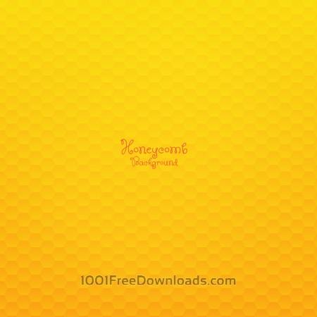 Free Honeycomb Background