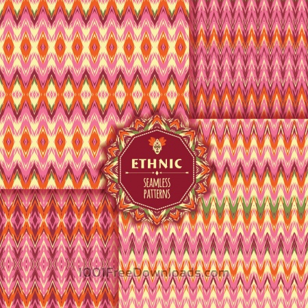 Free Ethnic seamless pattern