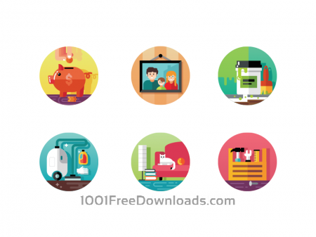 Free Home icons