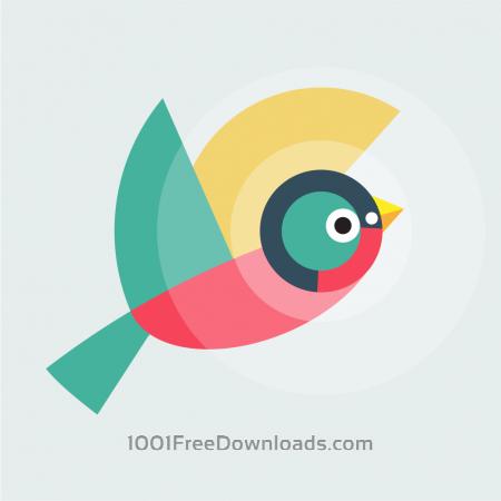 Free Geometrically stylized Bird