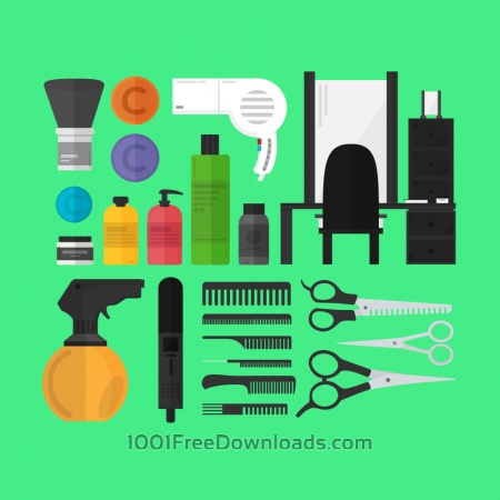 Free A Hairdresser's Toolset
