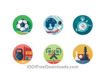 Free Sport icon set