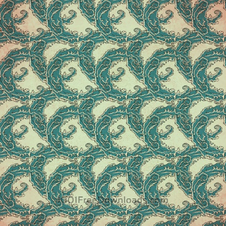 Free Vintage japanese pattern with waves