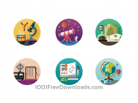 Free Science icon pack