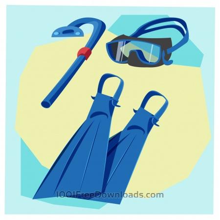 Travel cartoon objects vector illustration for design