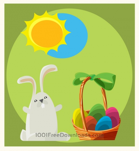 Free Easter vector objects illustration
