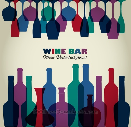 Free Wine abstract illustration