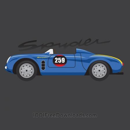Free Porsche Spyder