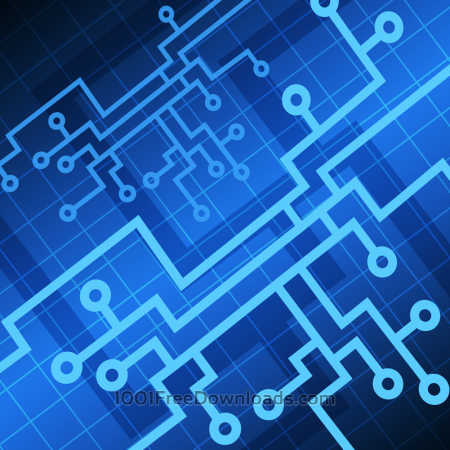 Free Vector Tech background