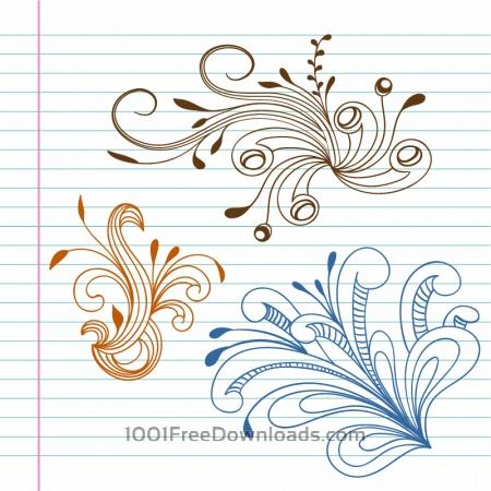 Free Doodle vector illustration