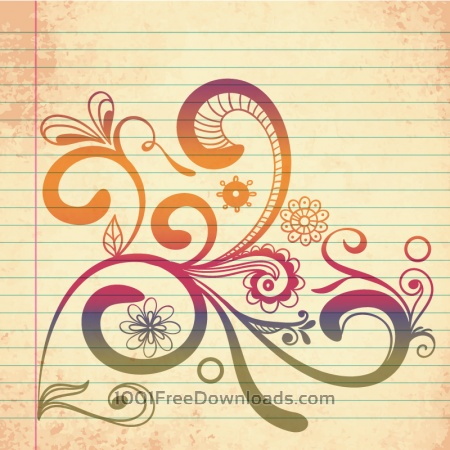 Free Doodle vector illustration