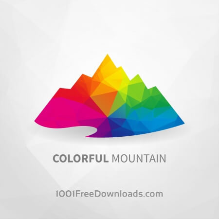 Free Colorful Mountain