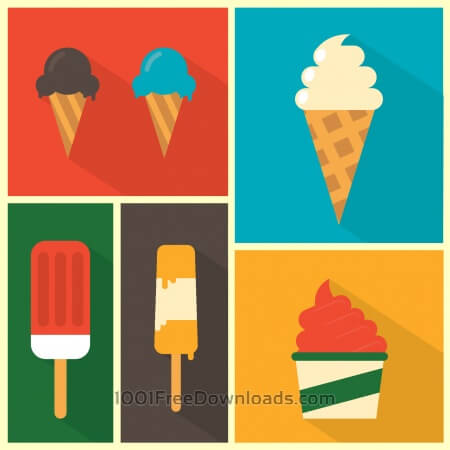 Free Ice Cream Background