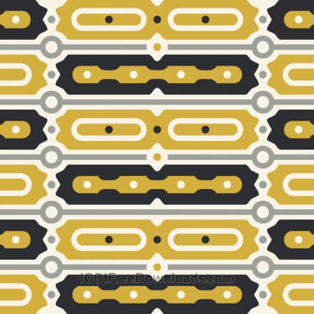 Free Gold and Black Bar Pattern