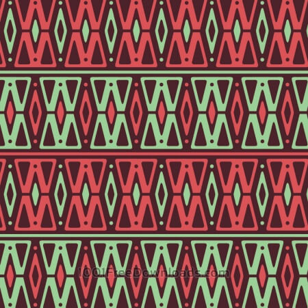 Free Retro Neon Pink and Green Pattern