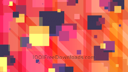 Free Long Shadow Squares Background