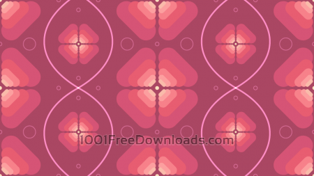Free Abstract Flower Background