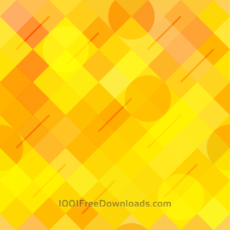 Free Yellow Abstract Pattern