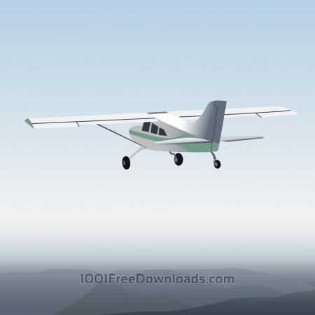 Free Vector illustration Aircraft