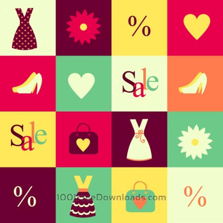 Free Fashion vector illustration