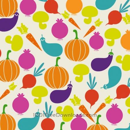 Free Food illustration with vegetables