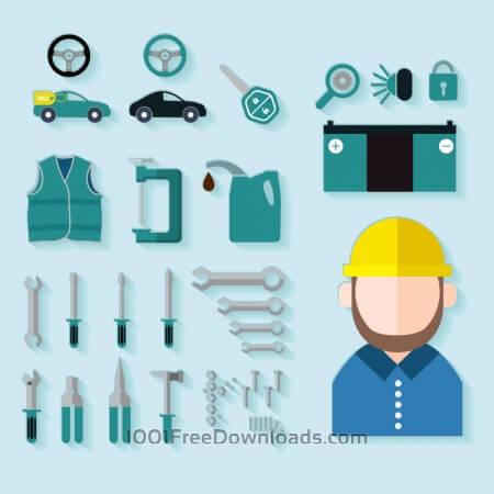 Free auto hardware