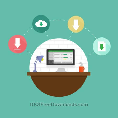 Free Internet download icons