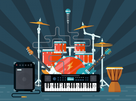 Free Concert illustration