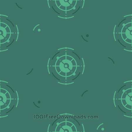 Free Green Nautical Pattern