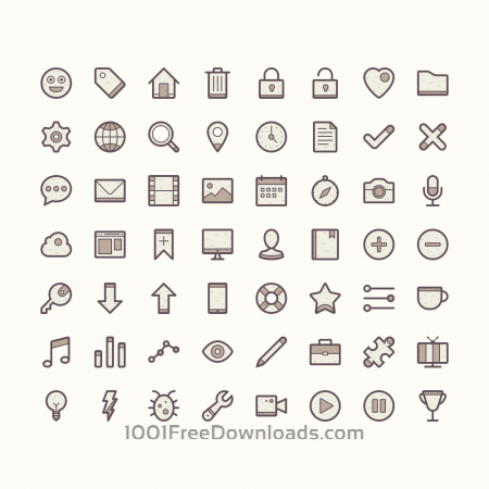 Free Barker - Icon Set