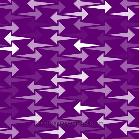 Free Purple Arrows Pattern
